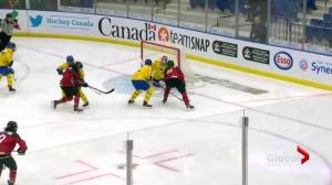Canada downs Sweden 6-1 at Four Nations Cup in Saskatoon
