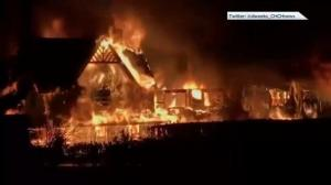 Massive fire destroys Inverary Inn in Nova Scotia