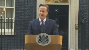 Cameron delighted that Scotland rejected independence