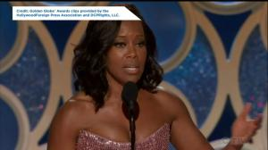 Golden Globes:  Regina King challenges Hollywood to employ more women