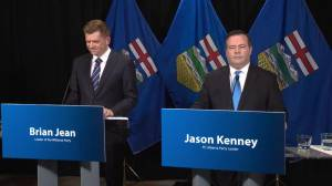 Kenney and Jean on the name United Conservative Party