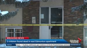 2 children found dead in Edmonton apartment building