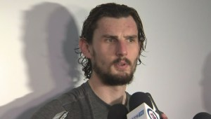 RAW: Winnipeg Jets Connor Hellebuyck Post Game Reaction – April 18