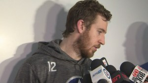 RAW: Winnipeg Jets Kevin Hayes Post Game Reaction – April 18