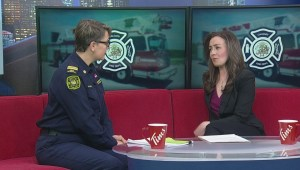 Plunging temperatures create challenges for Calgary firefighters