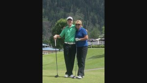 Golfer Jimmy Jones proud to follow in his mother's footsteps