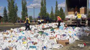 Edmonton Food Drive collection event aims to feed the hungry