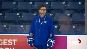 Saskatoon Blades fire head coach Dean Brockman
