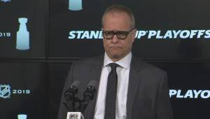 RAW: Winnipeg Jets Paul Maurice Post Game Reaction – April 18 (03:37)