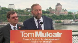 'I want ministers who say what their ridings need': Mulcair on Harper's 'ineffecient' MPs
