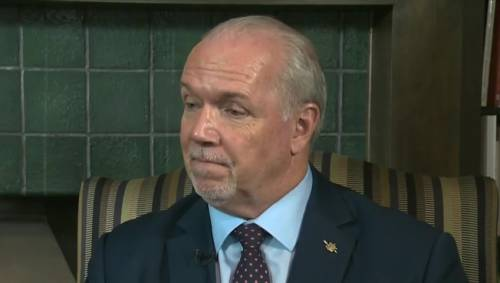Horgan says Trans Mountain pipeline 'feud' not with Albertans
