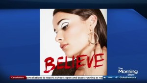 Liz Lokre performs 'Believe' on The Morning Show