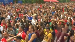 Belgium fans react to World Cup third place win against England