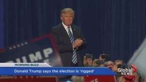 Trump says the whole election is 'rigged'