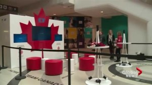 What are Canadians doing to get in the spirit of the games in South Korea?
