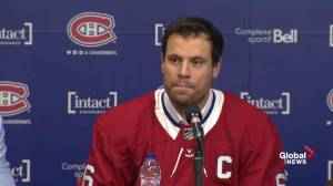 Shea Weber aware of pressures of being captain in Montreal