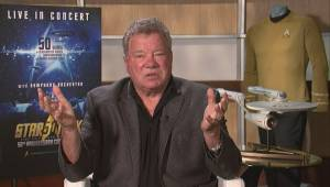 One-on-one with William Shatner on Star Trek's 50th anniversary