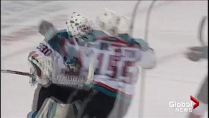 Kelowna Rockets get a 4-3 shootout victory over the CHL's best team