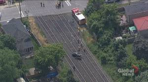 Peel police provide update after car crashes into GO train