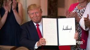 Trump signs executive order, calls it 'historic day' for healthcare