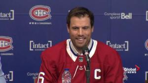 Shea Weber laughs about being called 'Dad' by teammates