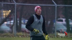 Saskatchewan Huskies soccer rookie a veteran in net