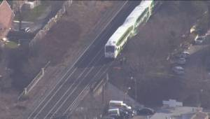 Pedestrian struck and killed by GO train