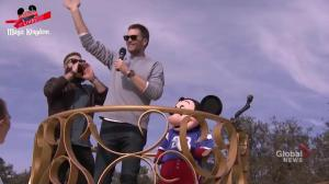 Tom Brady, Julian Edelman, Mickey Mouse celebrate Super Bowl win at Disney World