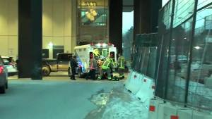 Woman in critical condition after parking garage shooting in Etobicoke