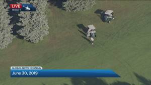 Global News helicopter captures mulligan on golf course, hilarity ensues