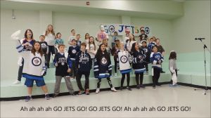 Manitoba school celebrates Jets success with a song