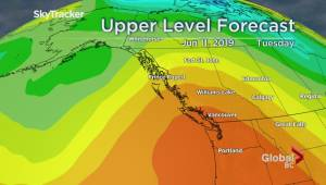 B.C. evening weather forecast: Jun 9