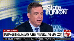 Sen. Warner discusses Michael Cohen lying to Congress to protect Trump