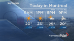 Global News Morning weather forecast: Tuesday, June 26