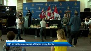 YRP arrest key members of Italian crime family