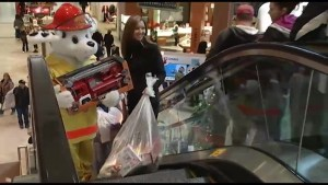 Firefighters help toy drive in Peterborough