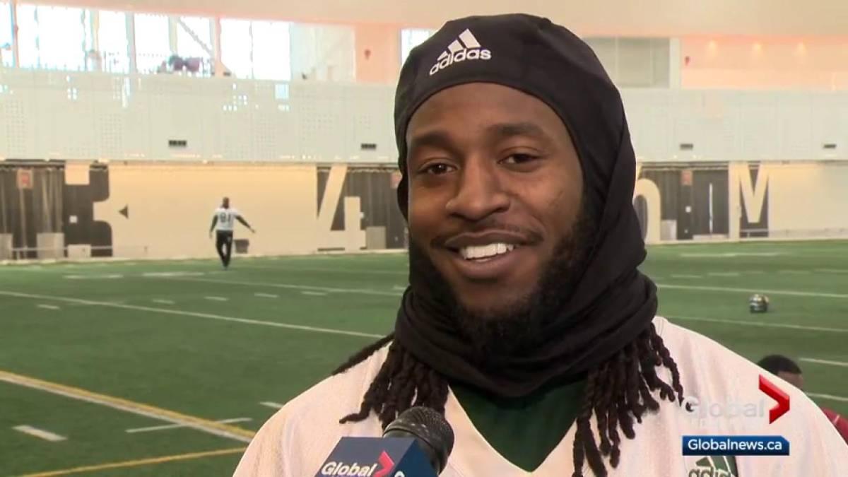Click to play video: 'Edmonton Eskimos wide receiver discovers West Edmonton Mall'