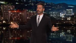 Jimmy Kimmel says Trump 'completely unhinged'