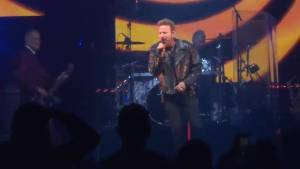 Corey Hart takes to the stage in Kingston
