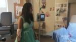 Teen battling cancer has dream grad dress delivered to hospital