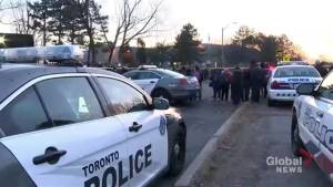 Students put on lock down after shooting at elementary school (02:04)