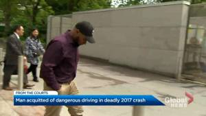 Accused acquitted in fatal July 2017 collision