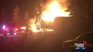 Neighbour helps people to safety in New Sarepta fire
