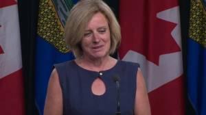 Alberta Premier responds to B.C. legal action against Bill 12