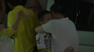 Thai boys return home after cave rescue