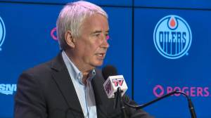 Bob Nicholson expresses confidence in Todd McLellan