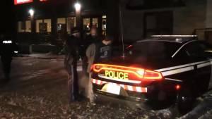 Driver flees 401 crash and arrested in washroom
