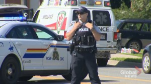 Fredericton shooting:  police and ambulance on scene after deadly shooting