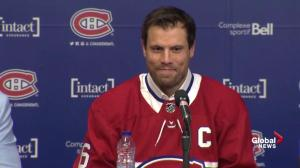 'Not there yet': Shea Weber on speaking en français