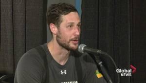 Playoff MVP Aaron Bold summarizes Saskatchewan Rush win at new home